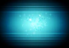 Abstrakt teknologiaffärsbakgrund Arkivbilder