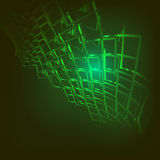 Abstrakt teknologibakgrund Arkivfoton