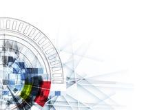 Abstrakt teknologibakgrund för is med linjer textur av för vektor illustrationer