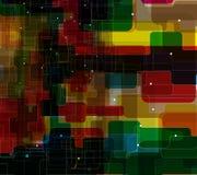 Abstrakt teknologibakgrundsaffär & utveckling Royaltyfria Foton