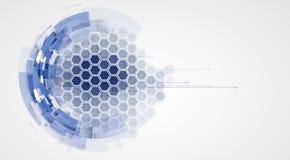 Abstrakt teknologibakgrundsaffär & utveckling Fotografering för Bildbyråer