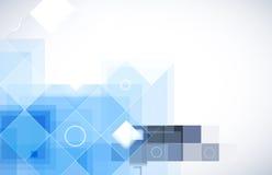 Abstrakt teknologibakgrundsaffär & utveckling Royaltyfri Bild
