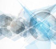 Abstrakt teknologibakgrundsaffär & utvecklingsriktning Arkivfoton