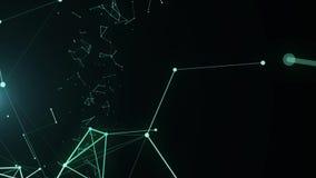 Abstrakt teknologimodell royaltyfri illustrationer