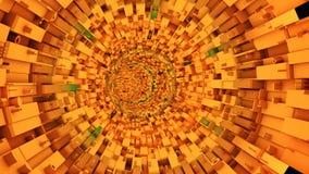 Abstrakt teknologisk tunnel Arkivbild