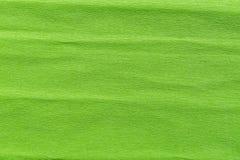 Abstrakt tekstury zielony zmięty marszczący papier dla tła Obraz Royalty Free
