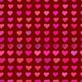 abstrakt text för avstånd för modell för förälskelse för bild för begreppshjärtaillustration Arkivfoto