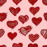 abstrakt text för avstånd för modell för förälskelse för bild för begreppshjärtaillustration Royaltyfria Bilder