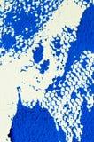 Abstrakt textur av den blåa gouachen, printmaking detalj royaltyfri fotografi