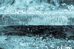 Abstrakt textur av den brände till kol plattan Arkivfoto