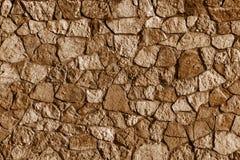 Abstrakt textur av en färg för stenyttersidabrunt Royaltyfri Bild