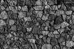 Abstrakt textur av en färg för stenyttersidasvart Royaltyfria Bilder
