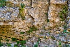 Abstrakt textur av en gammal vägg Royaltyfri Foto