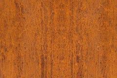 Abstrakt textur av en rostig metallplatta Arkivbild