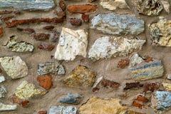 Abstrakt textur av en stenvägg Royaltyfri Bild