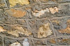 Abstrakt textur av en stenvägg Royaltyfria Foton