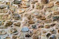 Abstrakt textur av en stenvägg Arkivbilder