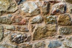 Abstrakt textur av en stenvägg Royaltyfri Fotografi