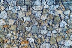 Abstrakt textur av en stenyttersida Arkivbild