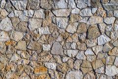 Abstrakt textur av en stenyttersida Royaltyfria Bilder