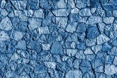 Abstrakt textur av en stenyttersidablått färgar Royaltyfri Foto