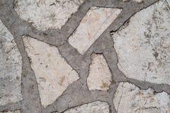 Abstrakt textur av ett stenbetonggolv för bakgrunder Royaltyfri Fotografi