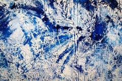 Abstrakt textur av färgstänkakryl Royaltyfria Bilder