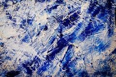 Abstrakt textur av färgstänkakryl Royaltyfri Fotografi