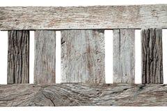 Abstrakt textur av gammalt trä på vit bakgrund, trädecorati Royaltyfria Bilder