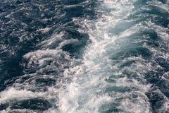 Abstrakt textur av havsvatten Royaltyfria Foton