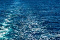 Abstrakt textur av havsvatten Royaltyfria Bilder