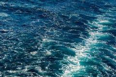 Abstrakt textur av havsvatten Royaltyfri Fotografi