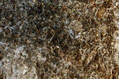 Abstrakt textur av isyttersida Royaltyfri Bild