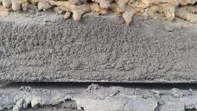 Abstrakt textur av konkret och rostig metall Arkivfoton