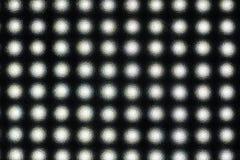 Abstrakt textur av ljus till och med exponeringsglaset Royaltyfri Bild