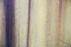 Abstrakt textur av målad rosta metall Royaltyfri Fotografi