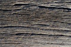 abstrakt textur av sprucken gammal wood yttersida Arkivbild