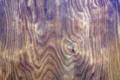 Abstrakt textur av tonad brun träyttersida Royaltyfria Bilder