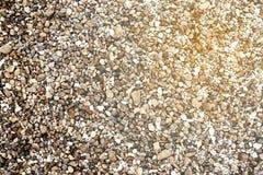 Abstrakt textur av vit-grå färger grus och den krossade stenen Royaltyfri Foto