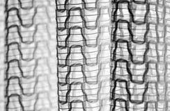 Abstrakt textur för closeuptulle bakgrund Royaltyfria Bilder