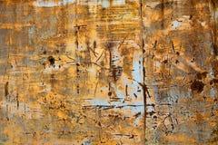 Abstrakt textur för grungemetallbakgrund Arkivbilder