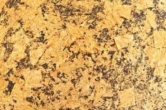 Abstrakt textur för guld- folie Royaltyfri Fotografi