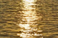 Abstrakt textur för havsvatten Royaltyfria Bilder