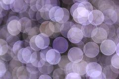 Abstrakt textur för julljus Arkivbilder