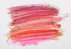 Abstrakt textur för målarfärg för vattenfärg Royaltyfri Fotografi