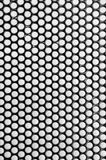 Abstrakt textur för metallgallercloseup Royaltyfri Foto
