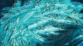 Abstrakt textur för olje- målarfärg på kanfas, bakgrund Royaltyfri Fotografi