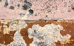Abstrakt textur för rosa färgbetongbakgrund Arkivbild