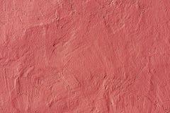 Abstrakt textur för rosa färgmurbrukvägg Royaltyfri Bild