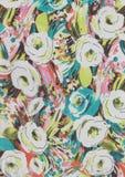 Abstrakt textur för rosa färgrosblommor Royaltyfri Foto